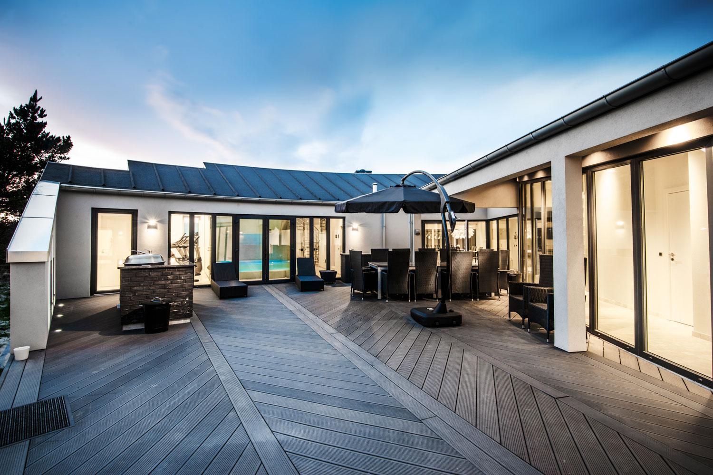 Luxusferienhaus Dänemark Luxus Urlaub Blaavand Fitness Pool Spa
